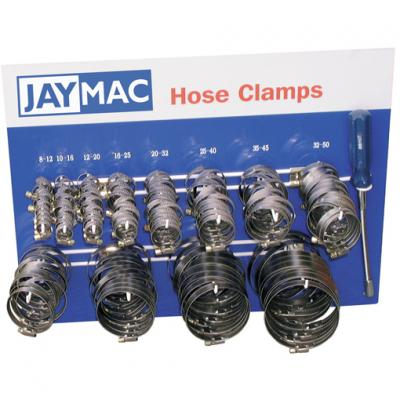 Jaymac Worm Drive Hose Clamps