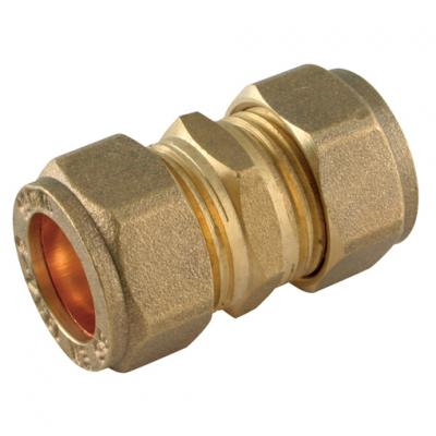 Brass Plumbing Compression Fittings, Metric