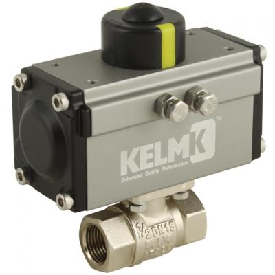 KELM Actuated Process Ball Valves