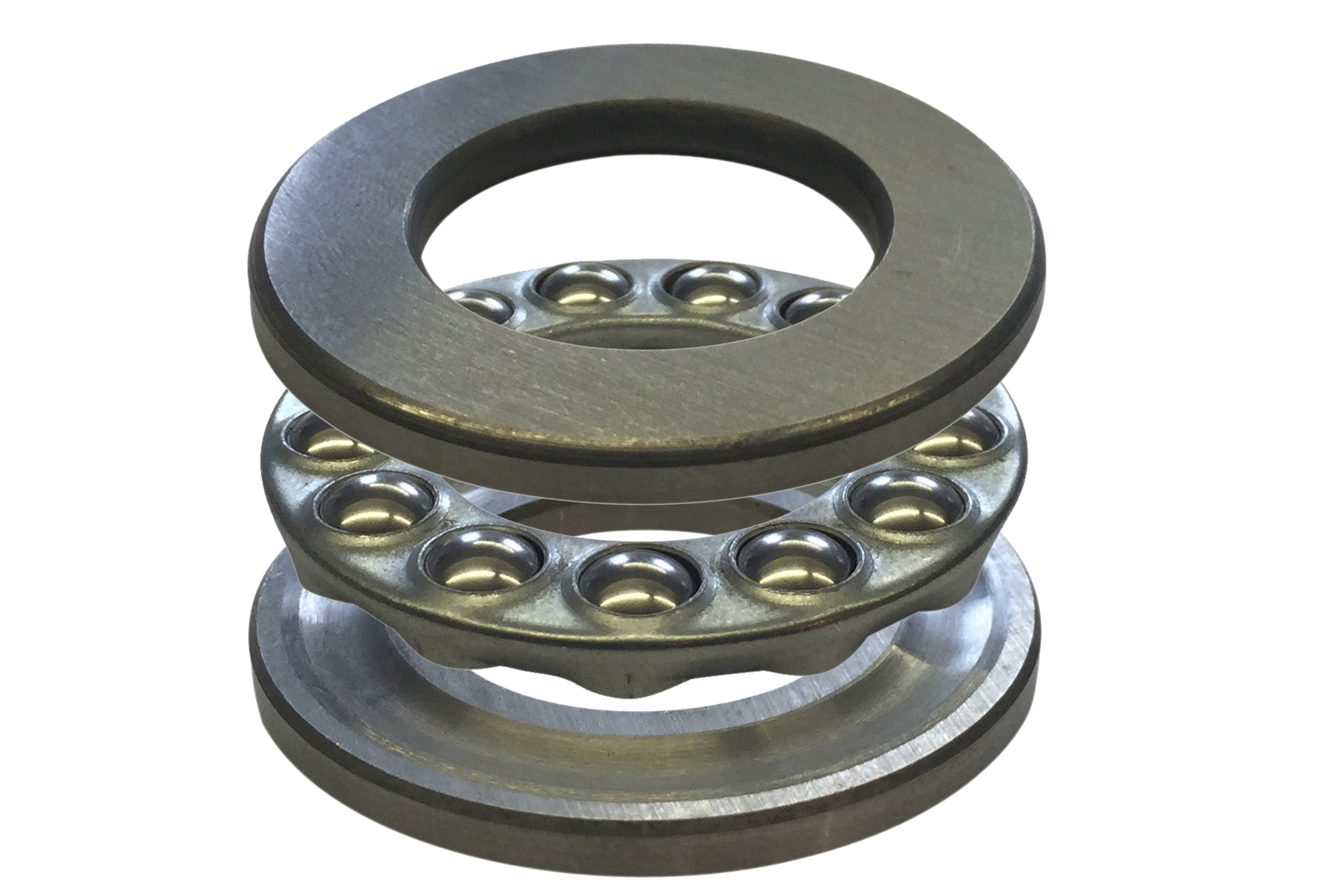 Three-Part Thrust Bearings