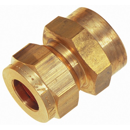 Imperial BSPP Single Banjo Coupling Wade Brass Compression Fitting