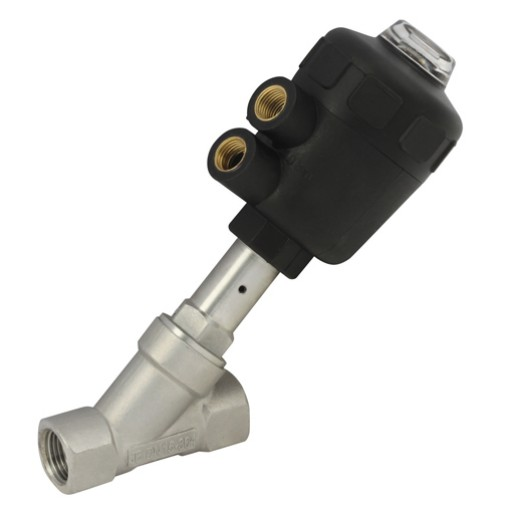 KASV-SSP-1-NO 316 Stainless Steel Valve, PA Nylon Actuator
