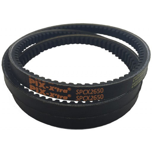 SPCX2650 Cogged Wedge Belt