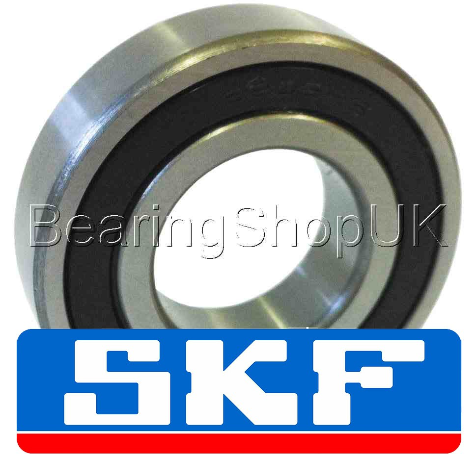 35mm OD 80mm Width 21mm 6307-2RS1 Radial Ball Bearing Double Sealed Bore Dia