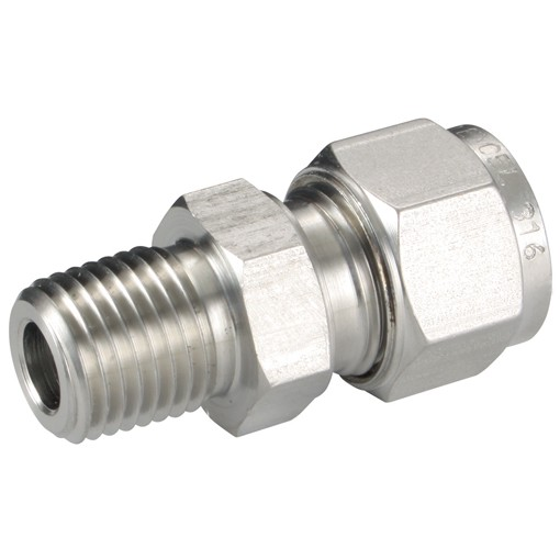Mc 375 250n Male Connectors Panam 316 Stainless Steel