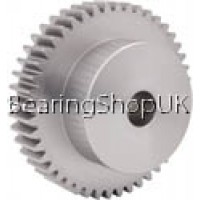 4 Mod x14  Tooth Metric Spur Gear In Steel