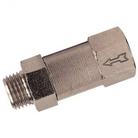 6063-14 Compact Non-return Valves, Brass
