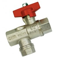 BV620-34 Full Way Ball Valves with Strainer