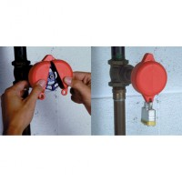 GVL-40RED Gate Valve Lockouts