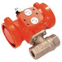 SA-1E Pneumatic Actuated Brass Ball Valves