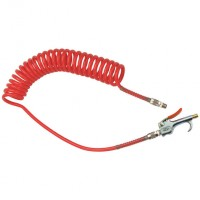 2025-2763 Blow Guns & Polyurethane Coil Assemblies, Red