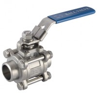 3BW-12 316 Stainless Steel Ball Valves