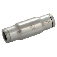 LE-3816 08 00 Tube-to-Tube Fittings for Metric Tubing