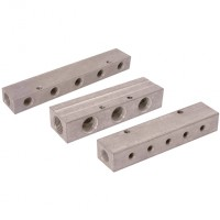 MAN-155.06 Aluminium Single-Sided Manifolds, BSPP