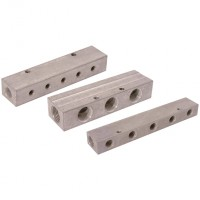 MAN-153.44 Aluminium Double-Sided Manifolds, BSPP