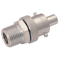 "AA5908 Steel Zinc Plated Instantair 1/2"" Swivel Adaptors"