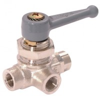 LE-0452 04 10 Standard 3 Way Ball Valves