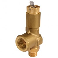 SEE943NP2B Brass Enclosed Safety Valves, Liquid Duty Nominal Bore, 10mm-13mm