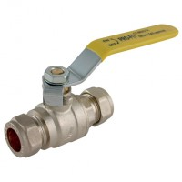 EPS-102125 Compression Ball Valves, Brass, Lever Handles