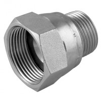 9015-08-10AS Straight Adaptors