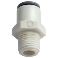 LE-6305 62 22W Male Stud Fittings