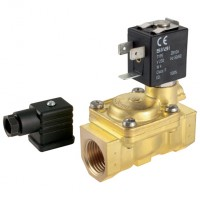 L282B01-12-24 General Purpose 2/2 N/O, Pilot Operated Solenoid Valves