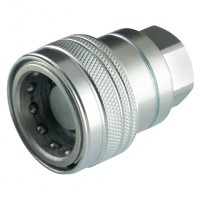 HFSFC6518 High Pressure Screw-On Coupling (Carbon Steel), 65 Series, ISO 5676