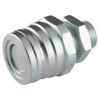 HFSFP6538 High Pressure Screw-On Coupling (Carbon Steel), 65 Series, ISO 5676