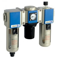 KCS300-15-F-3 300 Series Filter + Regulator + Lubricator Combination Units