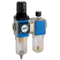 KFCS200-08-F-3 200 Series Filter/Regulator + Lubricator Combination Units
