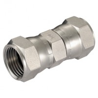 4J-6J-FF-10K Female x Female Straight Adaptors