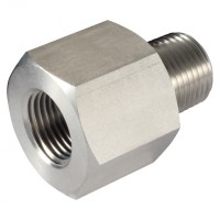 6N-4N-MF-10K Male x Female Straight Adaptors