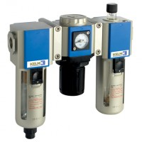 KCS300-15-A-F-3 300 Series Filter + Regulator + Lubricator Combination Units