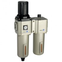 KFCS600-20-A-F-3 600 Series Filter/Regulator + Lubricator Combination Units