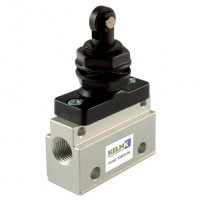 K3M3V-05 Panel Mount Valves, Manual & Mechanical 3/2 Way Valves