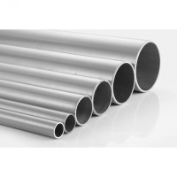 2009 6064 00 Grey Aluminium Pipe
