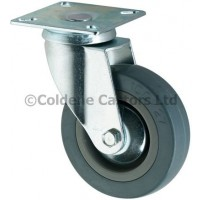 Economy - Swivel Top Plate 100mm Diameter