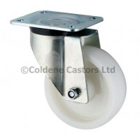 Heavy Duty Nylon Castor - Swivel 200mm Diameter