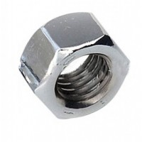 M10 Zinc Plated Hex Full Nuts (Pack of 10)