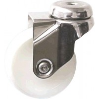 Nylon Wheels - Swivel Bolt Hole 75mm Diameter
