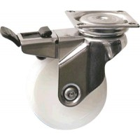 Nylon Wheels - Swivel Lock 125mm Diameter