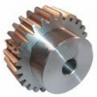 2 Mod x14  Tooth Metric Spur Gear In Steel