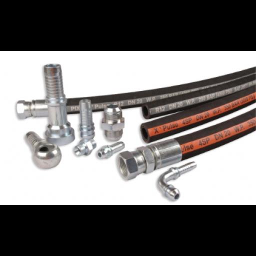 Custom Hydraulic Hose Assemblies
