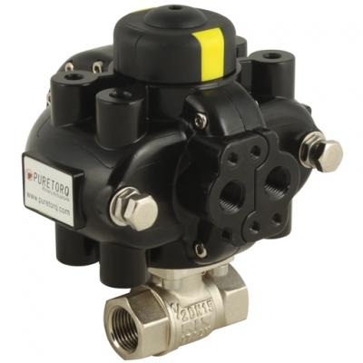 Puretorq Actuated Process Ball Valves