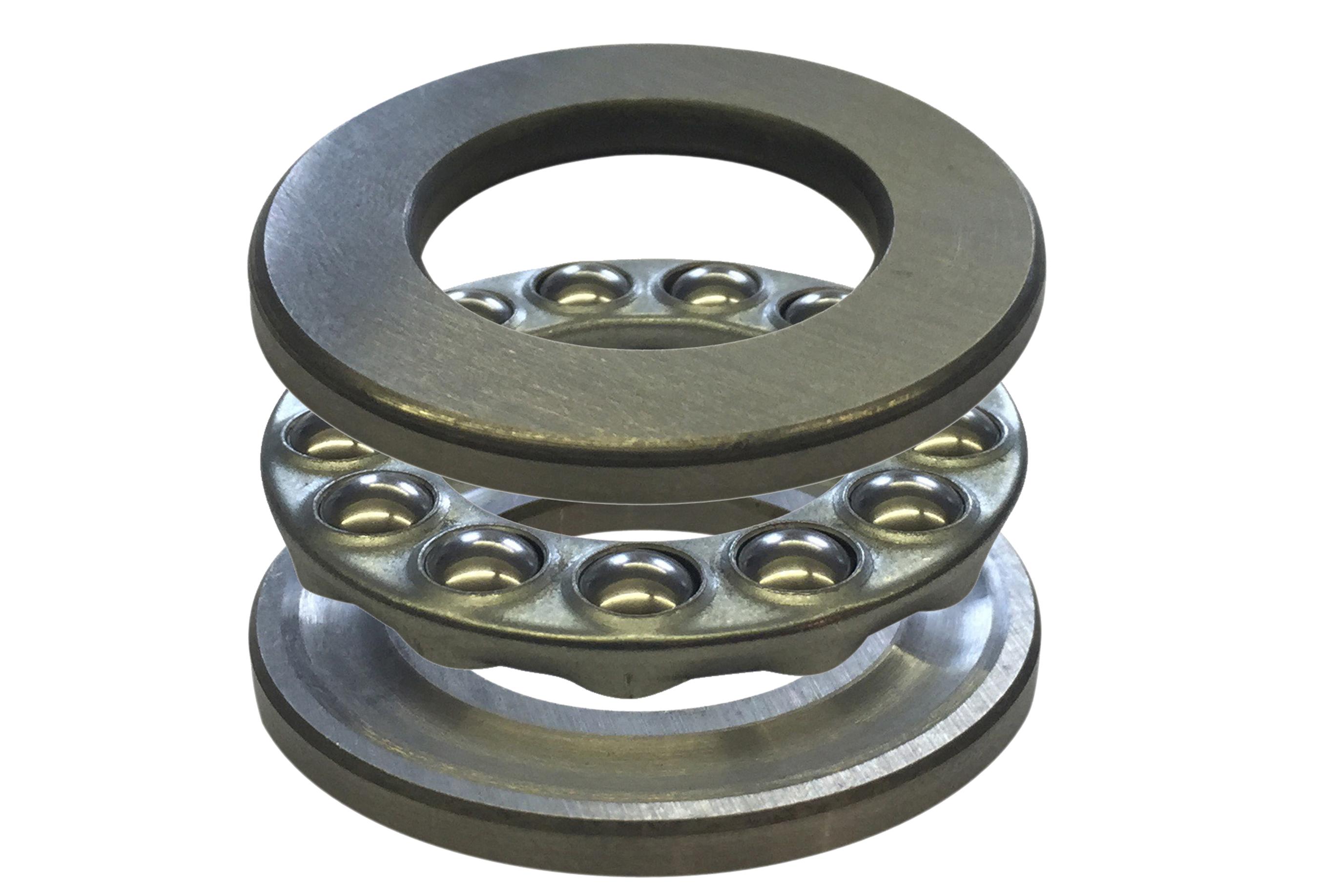 Three-Part Thrust Bearings