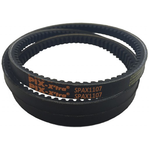 SPAX1107 Cogged Wedge Belt