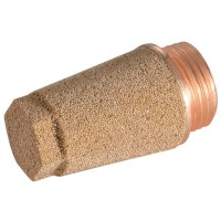 7030-M5 Coned Brass & Sintered Bronze Silencers