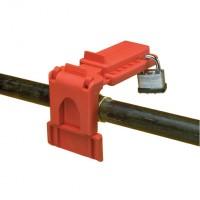 BVL-04RED Ball Valve Lockouts