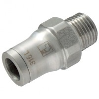 LE-3805 12 13 Threaded Fittings for Metric Tube