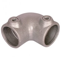 PCLAMPS-125-4 90�� 2 Way Elbow (125)